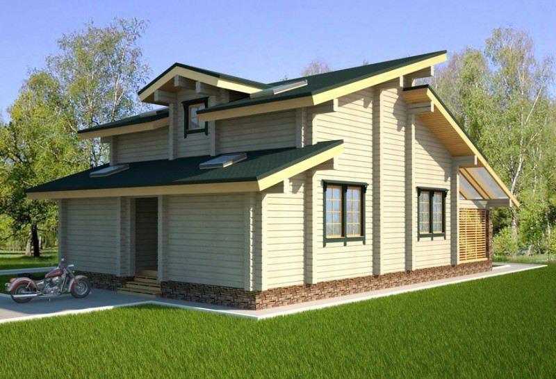 Проект дома ДП №134